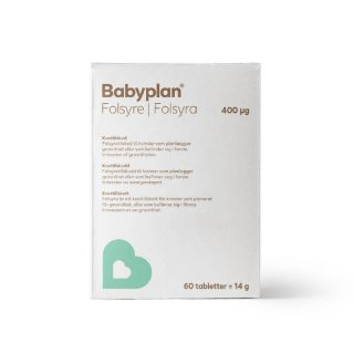 Babyplan folsyra