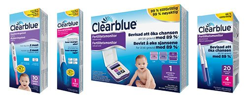 Clearblue testset