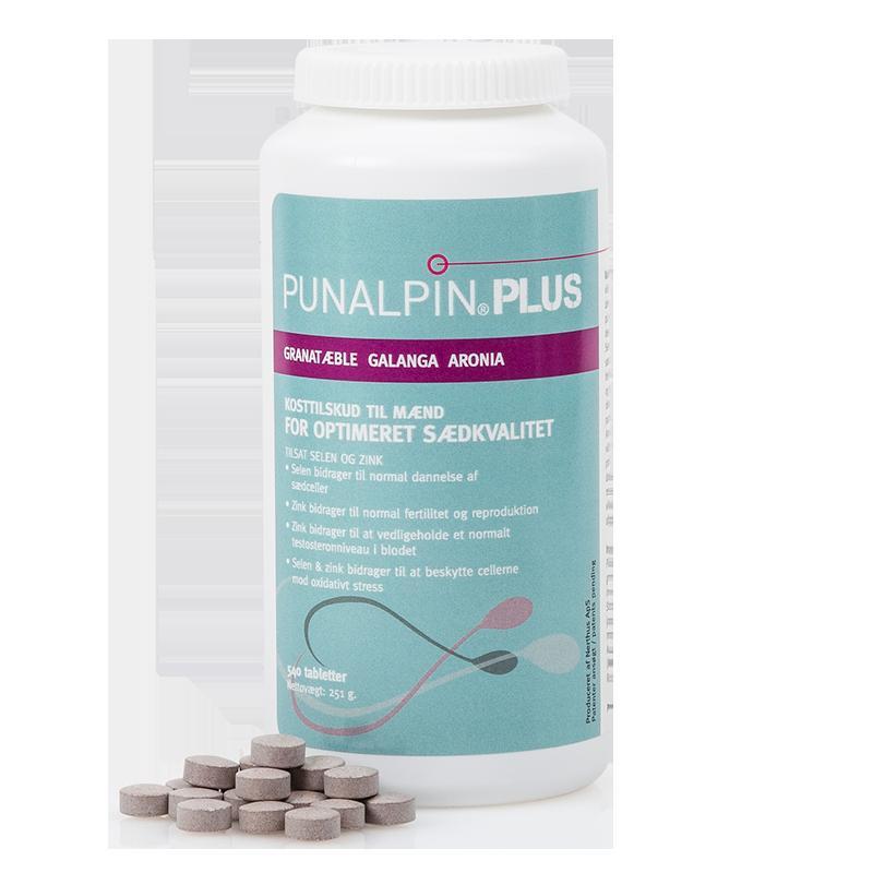 Punalpin® PLUS (540 tabletter/3 mån.) Granatäpple, galanga, aronia, zink, selen